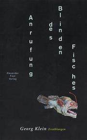 Cover of: Anrufung des blinden Fisches