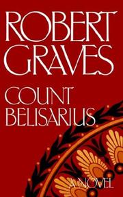 Cover of: Count Belisarius