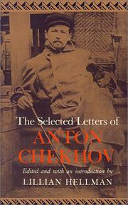 Cover of: The Selected Letters of Anton Chekhov