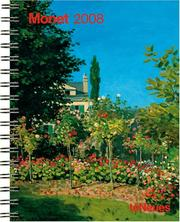 Cover of: Monet 2008 Calendar |