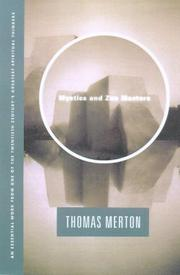 Cover of: Mystics and Zen Masters | Thomas Merton
