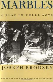 Cover of: Marbles | Joseph Brodsky