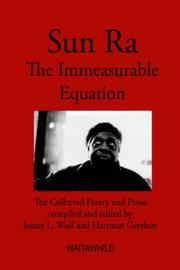 Cover of: Sun Ra