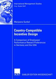 Cover of: Country-Compatible Incentive Design | Marjaana Gunkel