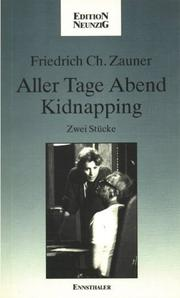 Cover of: Aller Tage Abend ; Kidnapping