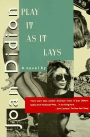 Cover of: Play It As It Lays | Joan Didion