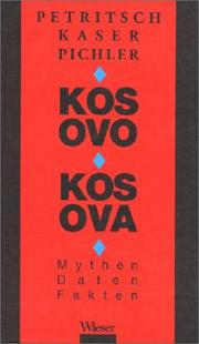 Cover of: Kosovo, Kosova