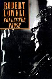 Cover of: The Collected Prose