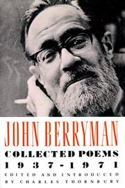 Cover of: Collected Poems 1937-1971