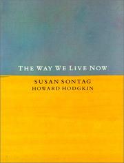 Cover of: The way we live now