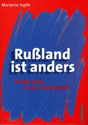 Cover of: Russland ist anders