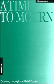 Cover of: Time to Mourn | Verena Kast