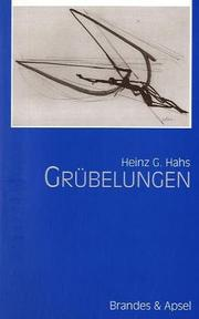 Cover of: Grübelungen