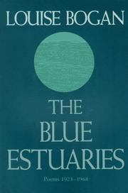 Cover of: The blue estuaries
