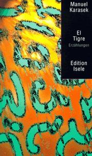 Cover of: El Tigre