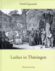 Cover of: Luther in Thüringen