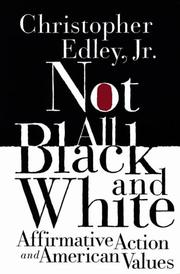 Cover of: Not All Black and White