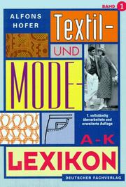 Cover of: Textil- und Modelexikon