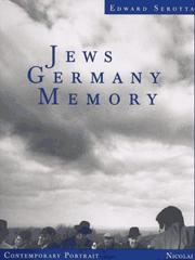 Cover of: Jews, Germany, memory