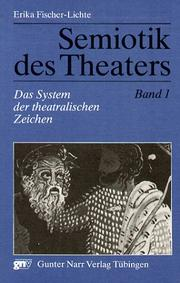 Cover of: Semiotik des Theaters