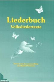 Liederbuch by Manfred Fortmann