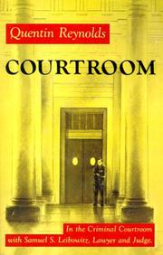 Cover of: Courtroom