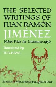 Cover of: Selected Writings of Juan Ramon Jimenez