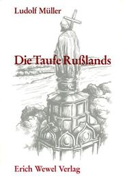 Cover of: Die Taufe Russlands