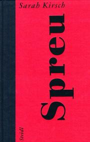 Cover of: Spreu