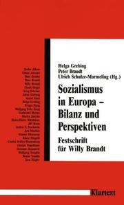 Cover of: Sozialismus in Europa