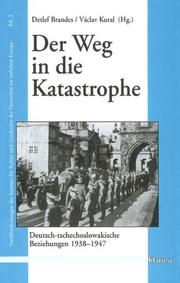 Cover of: Der Weg in die Katastrophe