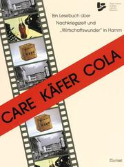 Cover of: Care Käfer Cola
