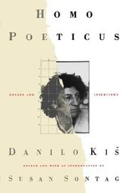 Cover of: Homo Poeticus