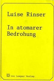 Cover of: In atomarer Bedrohung