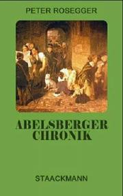 Cover of: Abelsberger Chronik