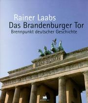 Cover of: Brandenburger Tor