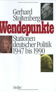 Cover of: Wendepunkte