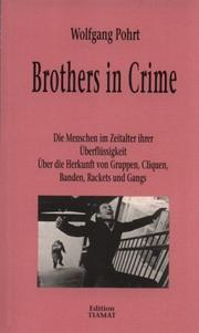 Cover of: Brothers in Crime