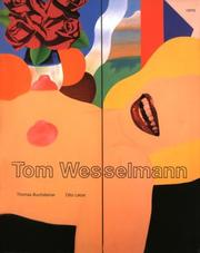 Cover of: Tom Wesselmann | Otto Letze