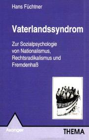 Cover of: Vaterlandssyndrom