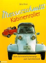 Cover of: Messerschmitt Kabinenroller