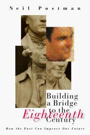 Cover of: Building a Bridge to the 18th Century