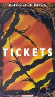 Cover of: Tickets