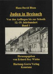 Cover of: Juden in Breisach