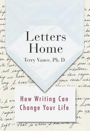 Cover of: Letters home | Terry Vance