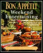 Cover of: Bon Appetit Weekend Entertaining