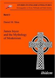 Cover of: James Joyce and the mythology of modernism