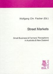Cover of: Street markets |