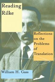 Cover of: Reading Rilke