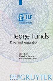 Cover of: Hedge funds |